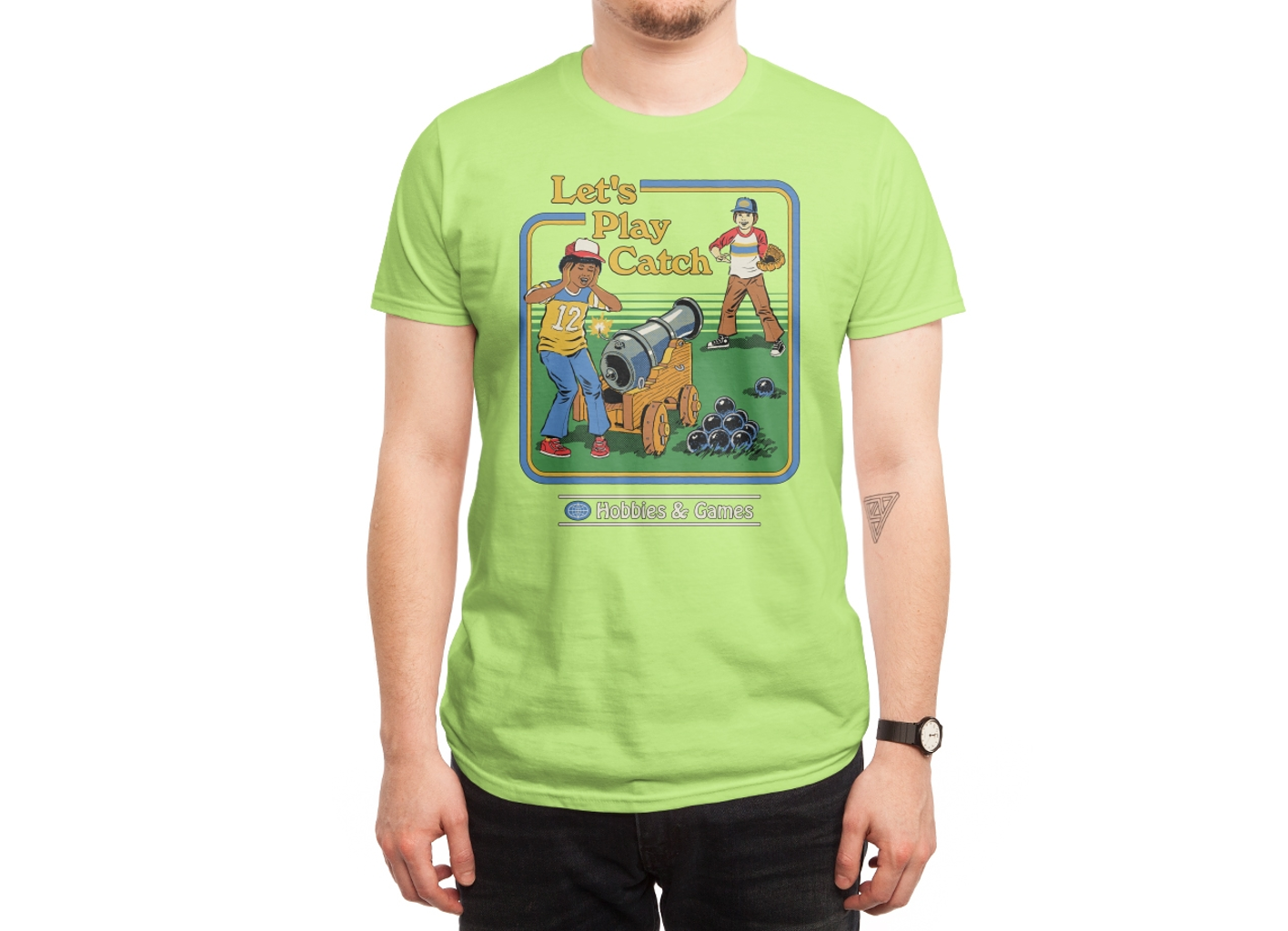 Threadless: Let's Play Catch