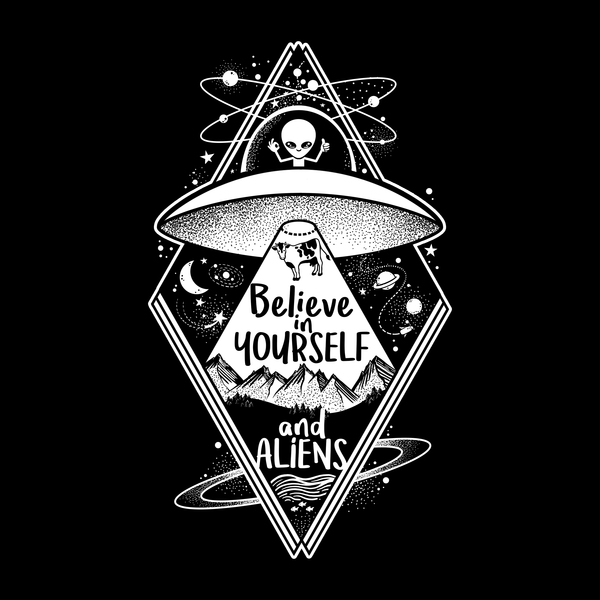 NeatoShop: Believe in yourself and aliens