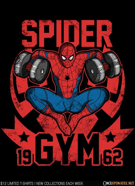 Once Upon a Tee: Spider Gym