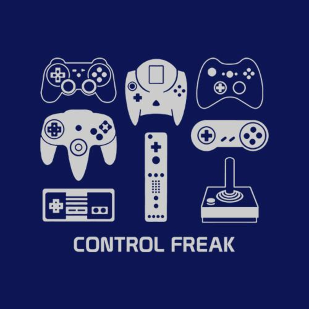 Five Finger Tees: Control Freak T-Shirt