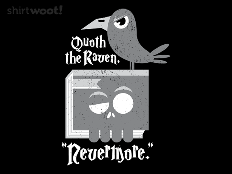 Woot!: Poe's Raven