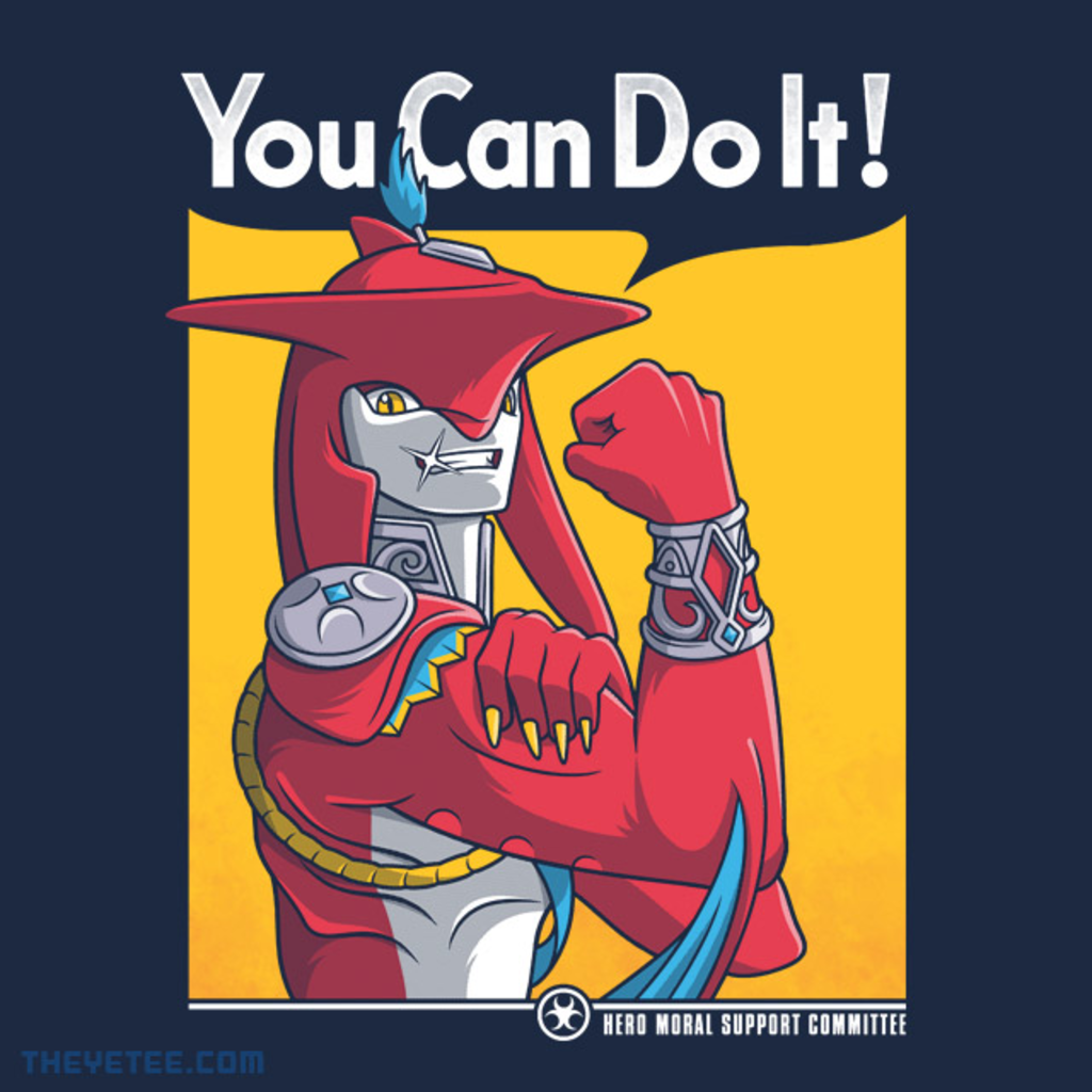 The Yetee: Handsome Supportive Shark-Man