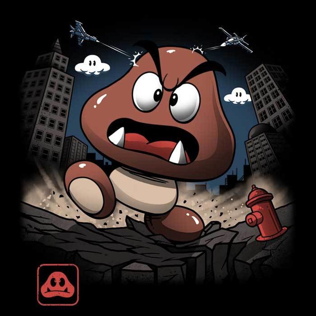 Once Upon a Tee: Goomba Kaiju