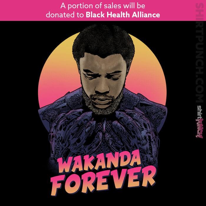 ShirtPunch: Wakanda Forever