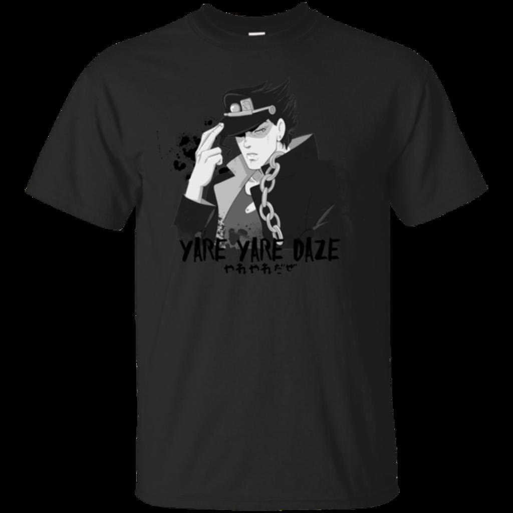 Pop-Up Tee: Yare Yare Daze