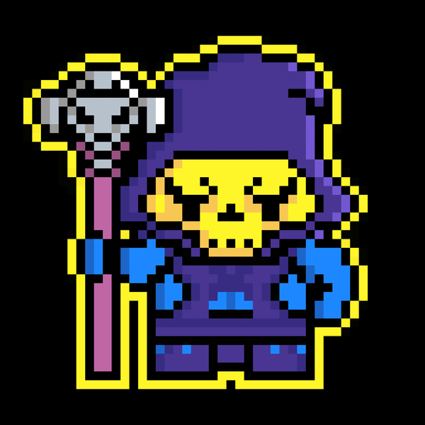 NeatoShop: Pixel Skeletor