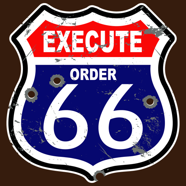 NeatoShop: Route 66 parody sign