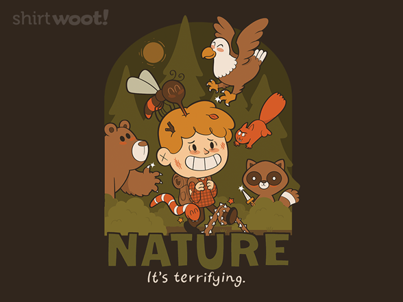 Woot!: Nature - It's Terrifying