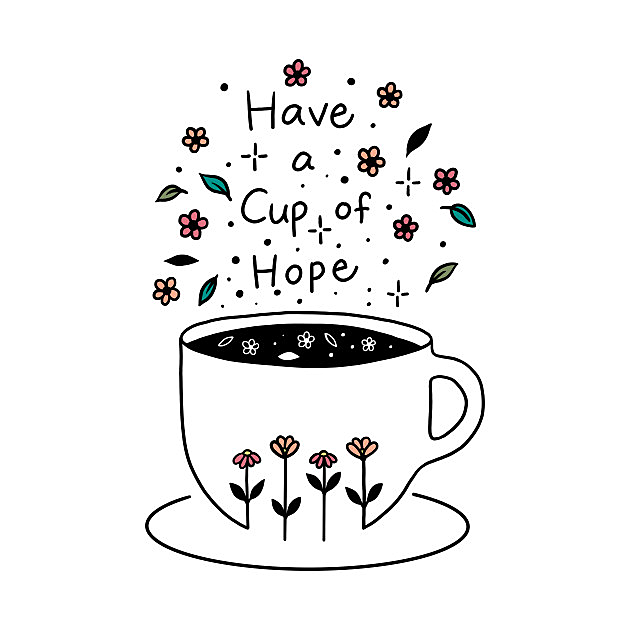 TeePublic: A Cup of Hope
