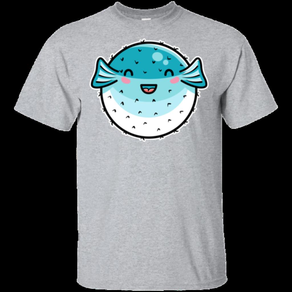 Pop-Up Tee: Kawaii  Puffer Fish