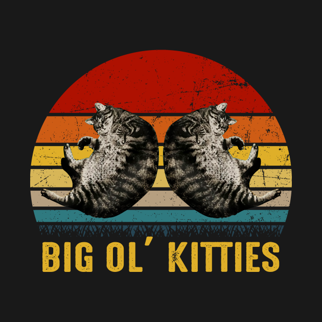TeePublic: Big Ol' Kitties
