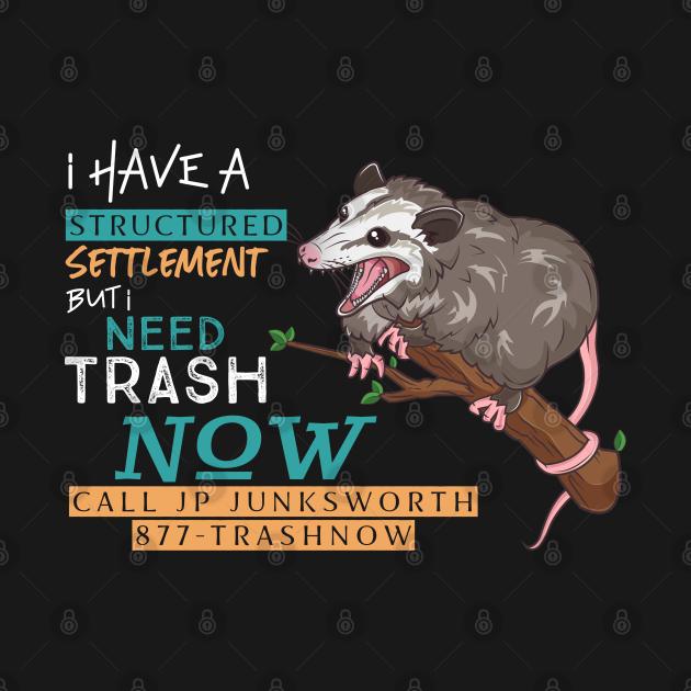 TeePublic: 877-TRASHNOW Possum