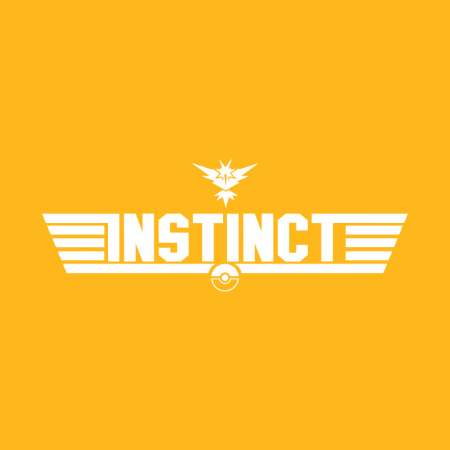 TeePublic: Top Gun Team Instinct (White) T-Shirt