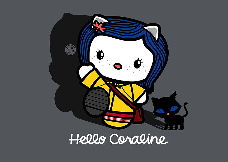 TeeFury: Hello Coraline