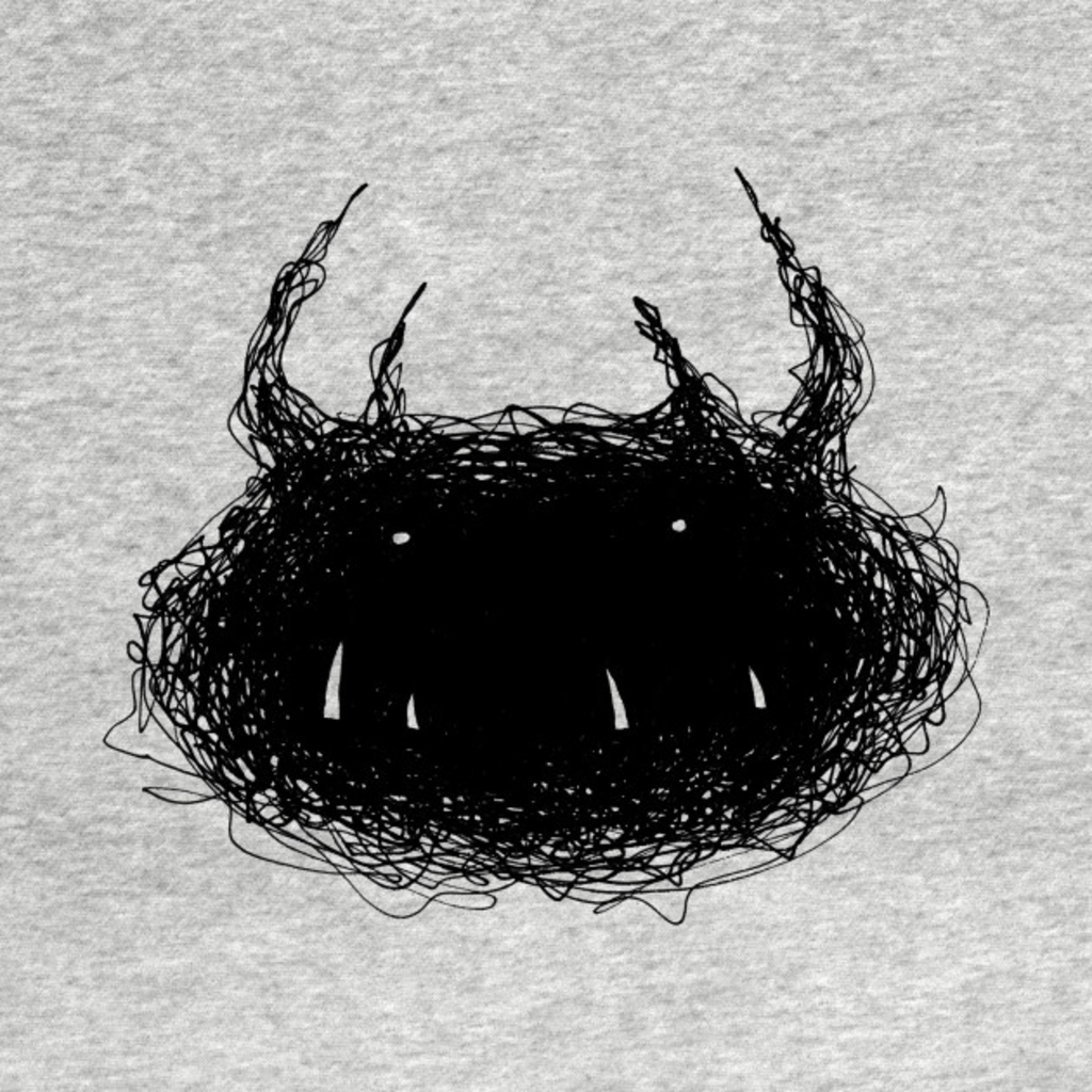 TeePublic: Scribble Monster
