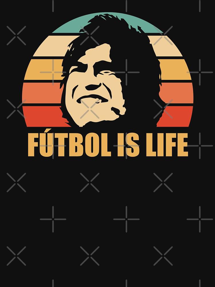 RedBubble: FUTBOL IS LIFE