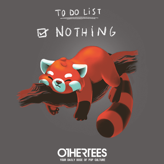 OtherTees: Red Panda Day
