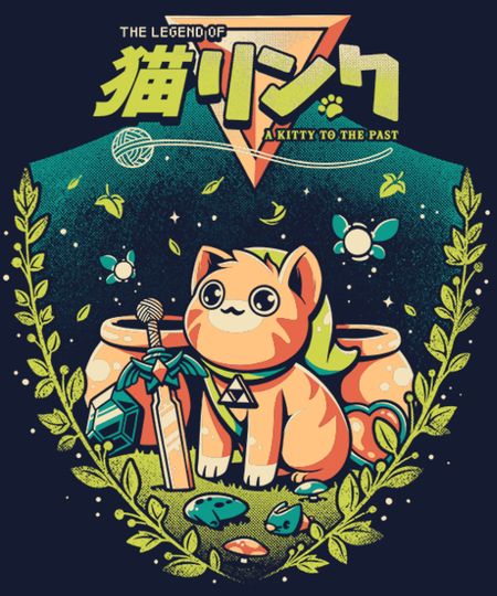 Qwertee: A Kitty to the past