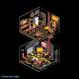 The Yetee: 8-bit Fantasy Bar