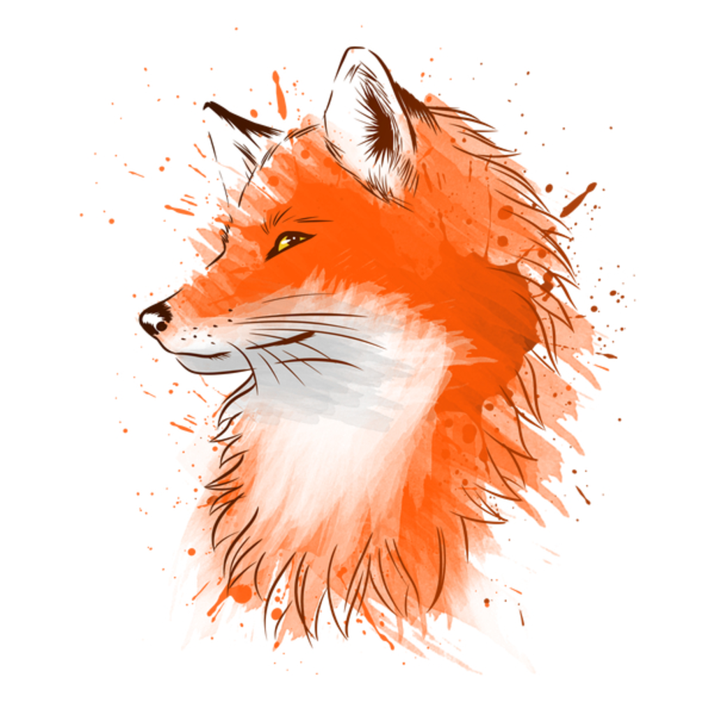 NeatoShop: Water Color Fox