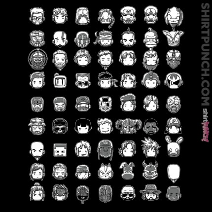 ShirtPunch: All My Heroes