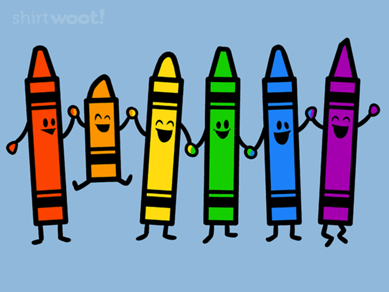 Woot!: Colorful Friends - $15.00 + Free shipping
