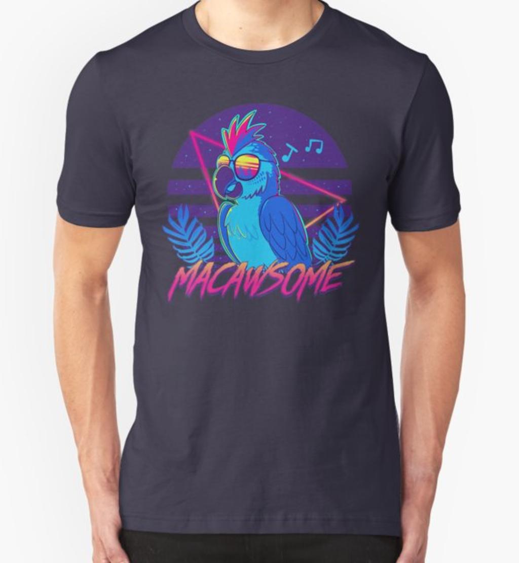 RedBubble: Macawsome