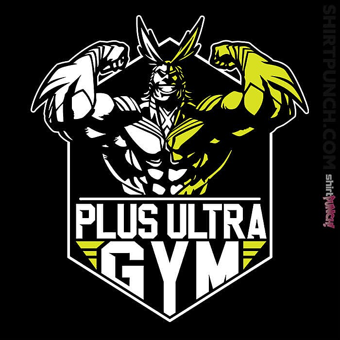 ShirtPunch: All Might Gym
