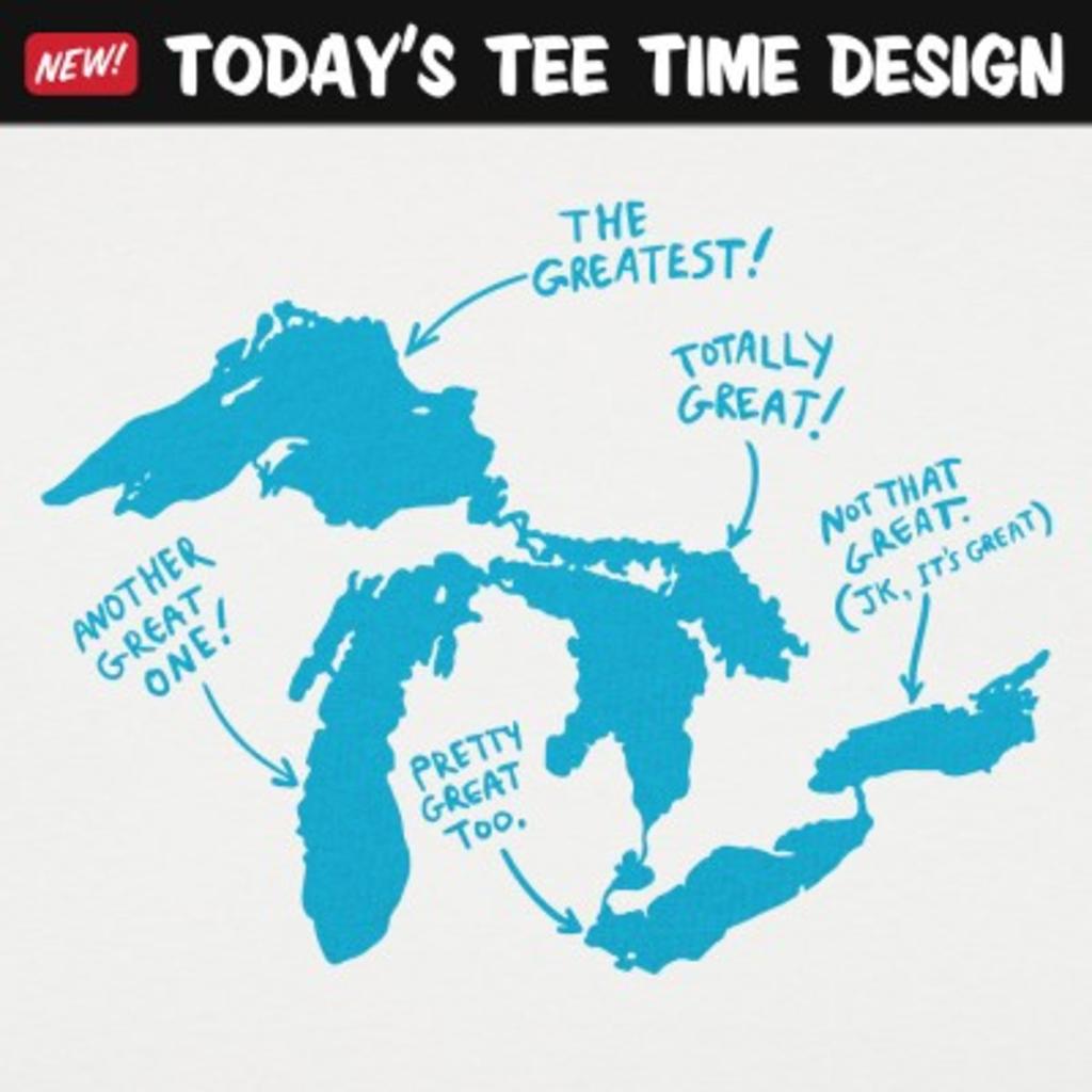 6 Dollar Shirts: Great Lakes
