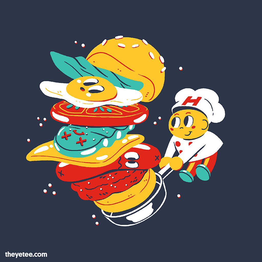 The Yetee: Pepper Patty With The Works