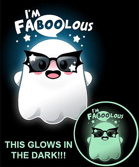 Qwertee: Faboolous ghost