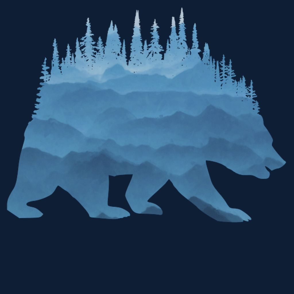 NeatoShop: Bear Blue Mountains