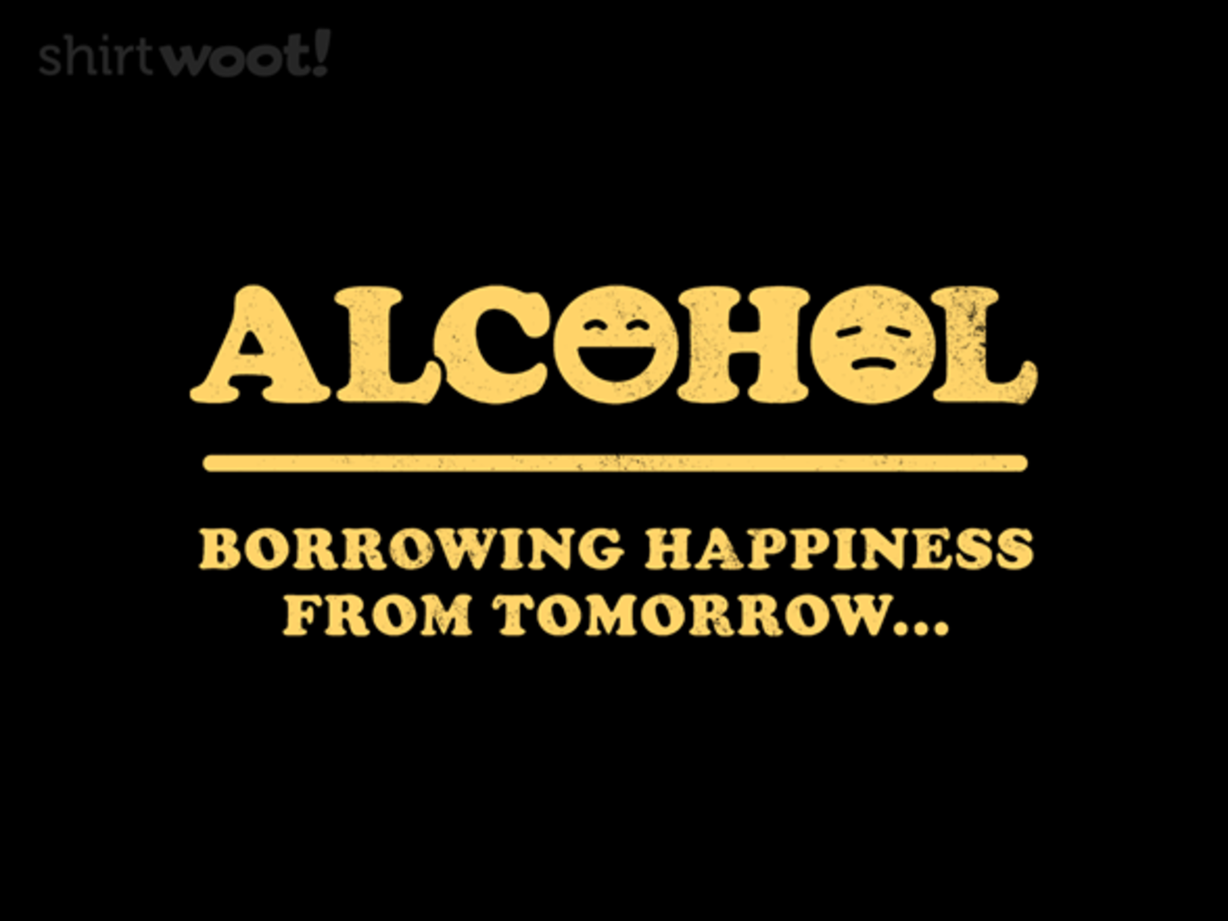 Woot!: Alcohol
