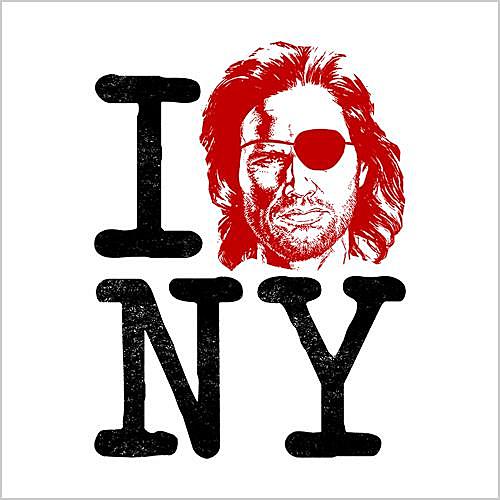 Five Finger Tees: I Heart New York Snake Plissken T-Shirt