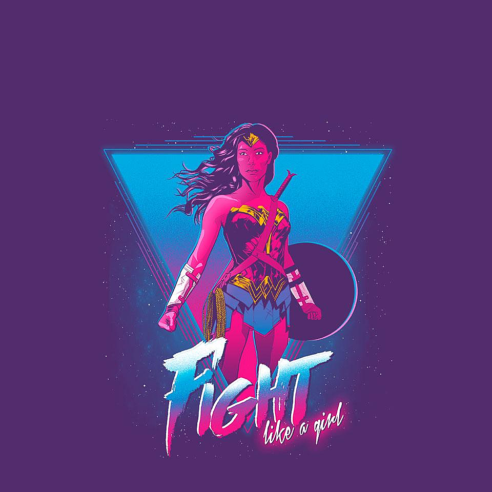 TeeFury: Like a Girl
