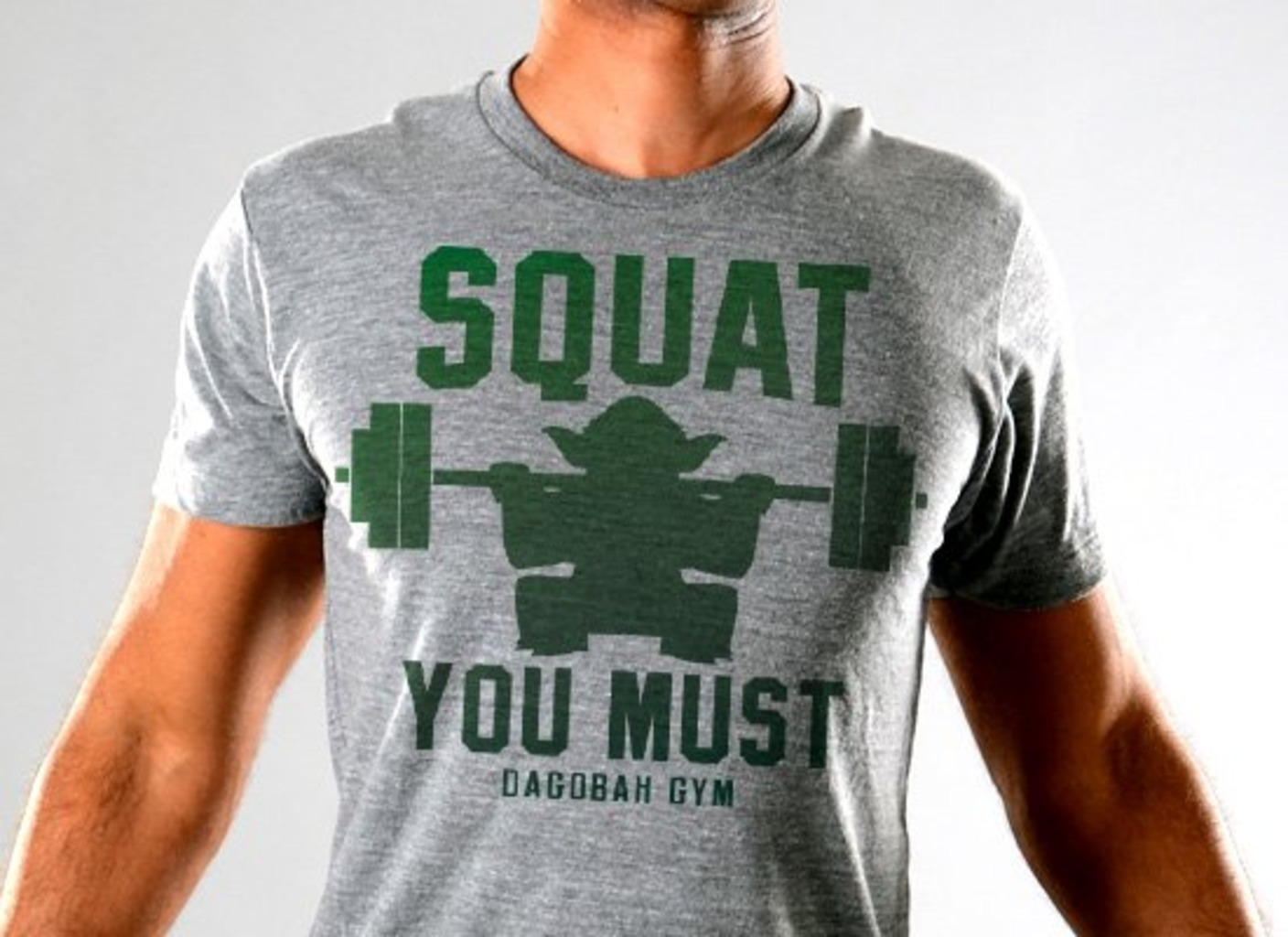 SnorgTees: Squat You Must Limited Edition Tri-Blend