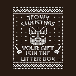 Five Finger Tees: Grumpy Cat Ugly Christmas Sweater T-Shirt