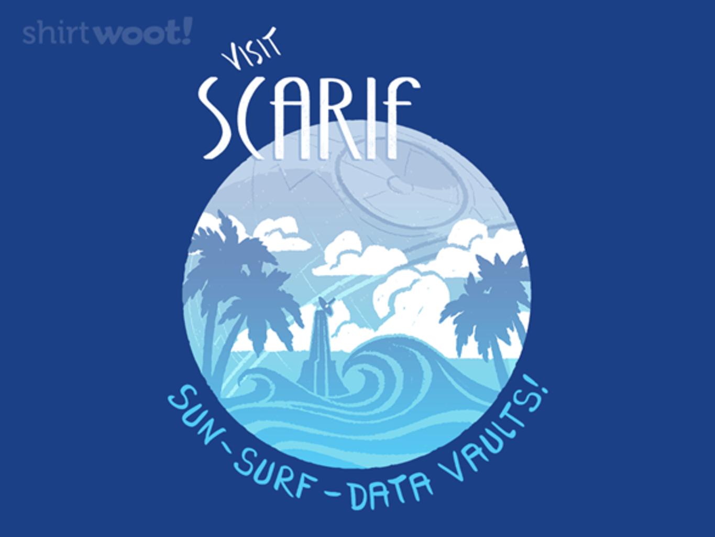 Woot!: Sun, Surf, And Data Vaults!