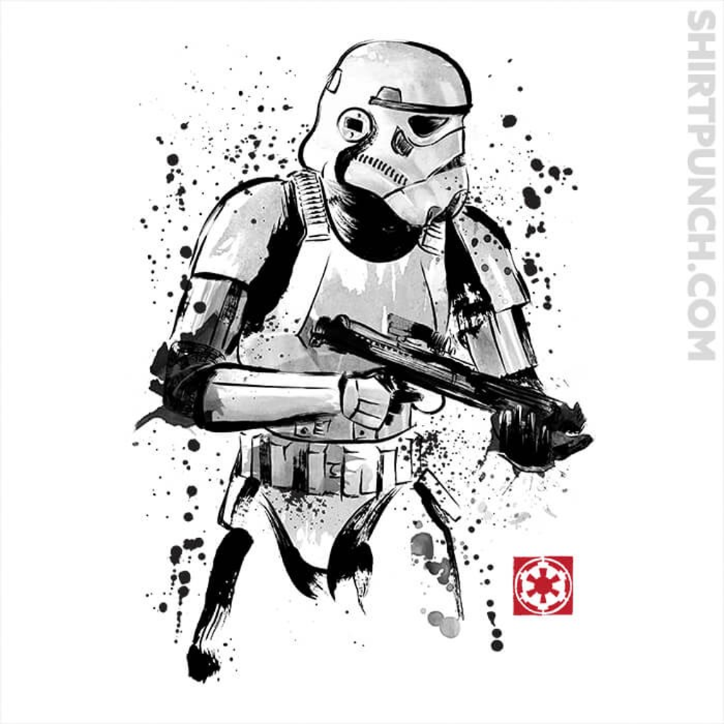 ShirtPunch: Trooper Sumi-e