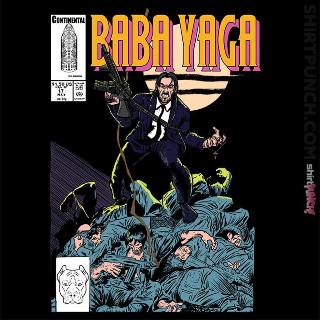 ShirtPunch: Baba Yaga No1