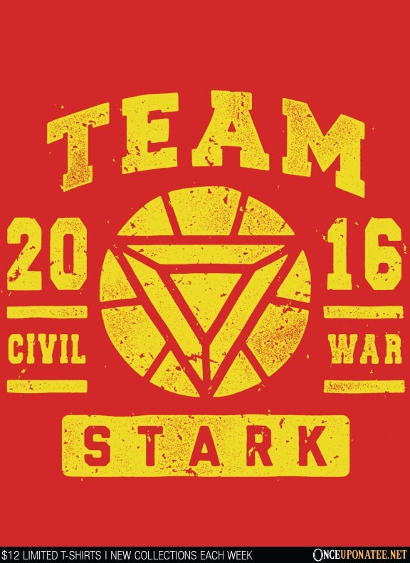 Once Upon a Tee: Team Stark