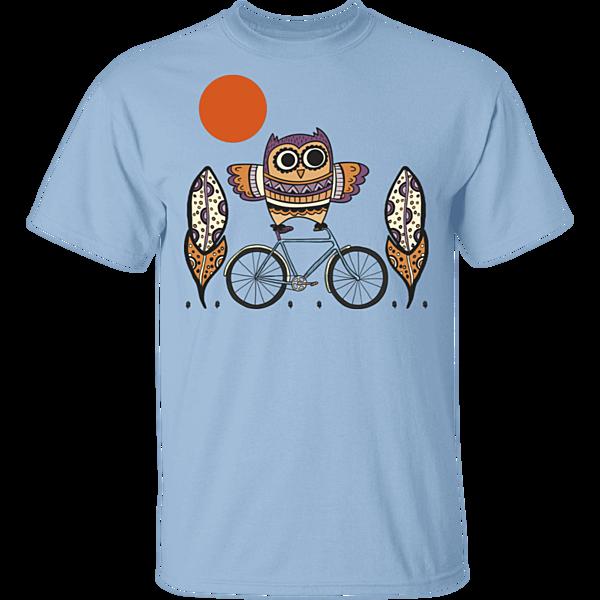 Pop-Up Tee: Owl On A Bike