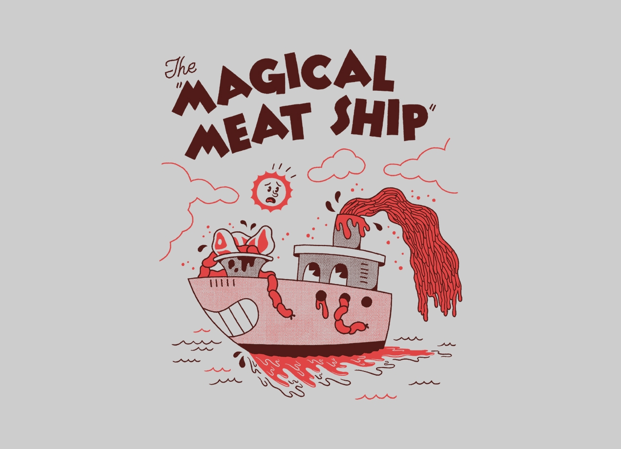 Threadless: The Magical Meat Ship