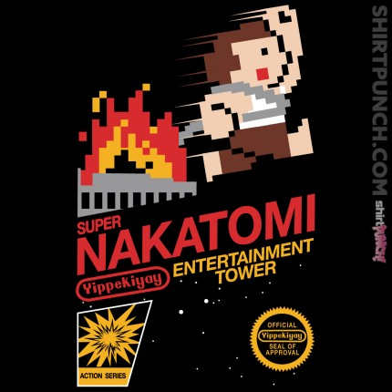 ShirtPunch: Super Nakatomi Tower