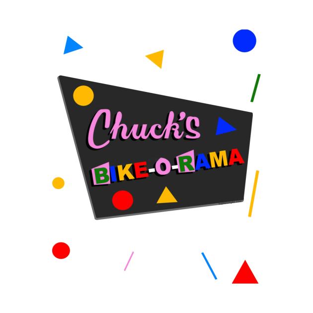TeePublic: Chuck S Bike O Rama 26