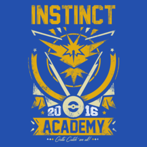 Pop-Up Tee: Instinct Academy
