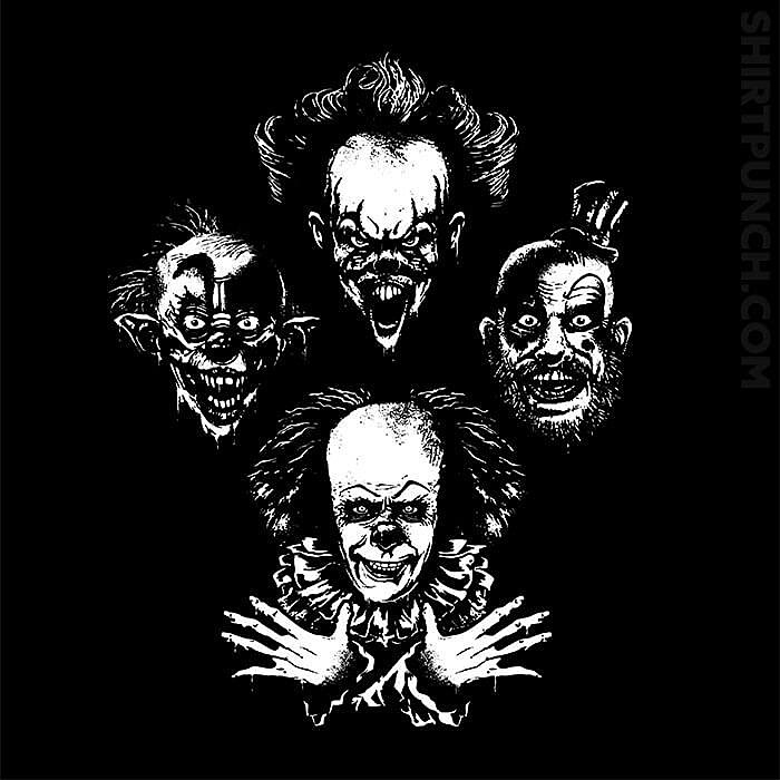 ShirtPunch: Evil Clown Rhapsody