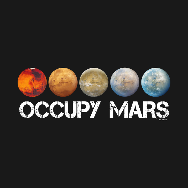 TeePublic: Occupy Mars Terraform