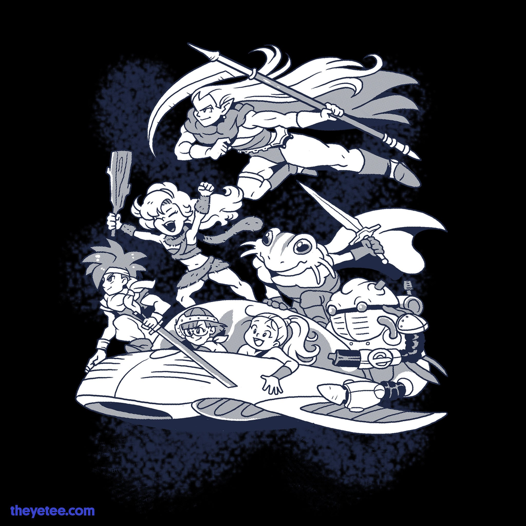The Yetee: Time Travel Buddies
