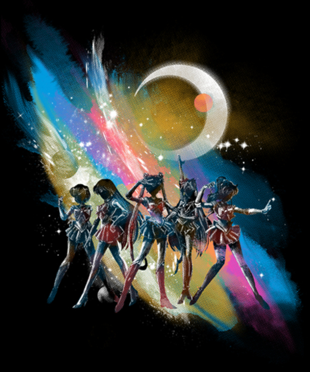 Qwertee: pretty guardians of the galaxy